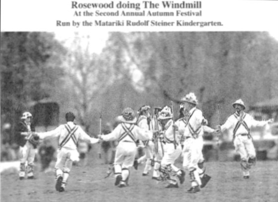Rosewood Morris dance the Windmill