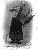 Lynne with her accordion?